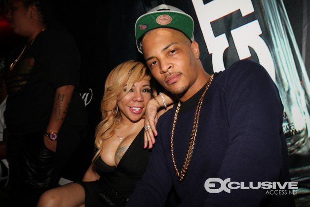 ti & tiny ring in 2014 at Cameo Theatre in Miami presented by Grand Touring Vodka
