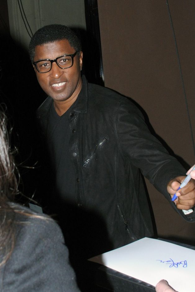 Babyface seen with his girlfriend at the Craig's Restaurant in West Hollywood