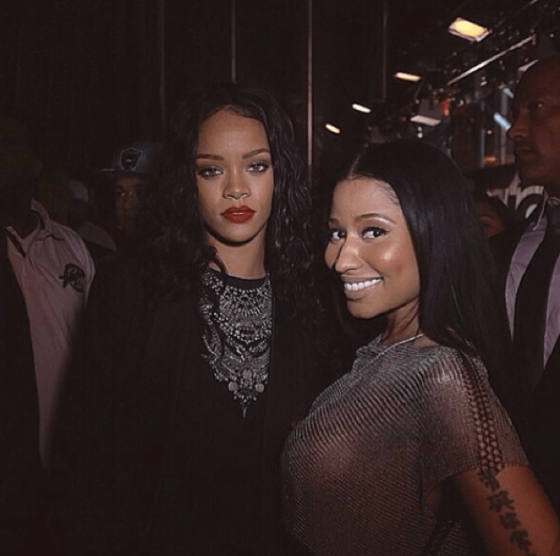Rih and Nicki