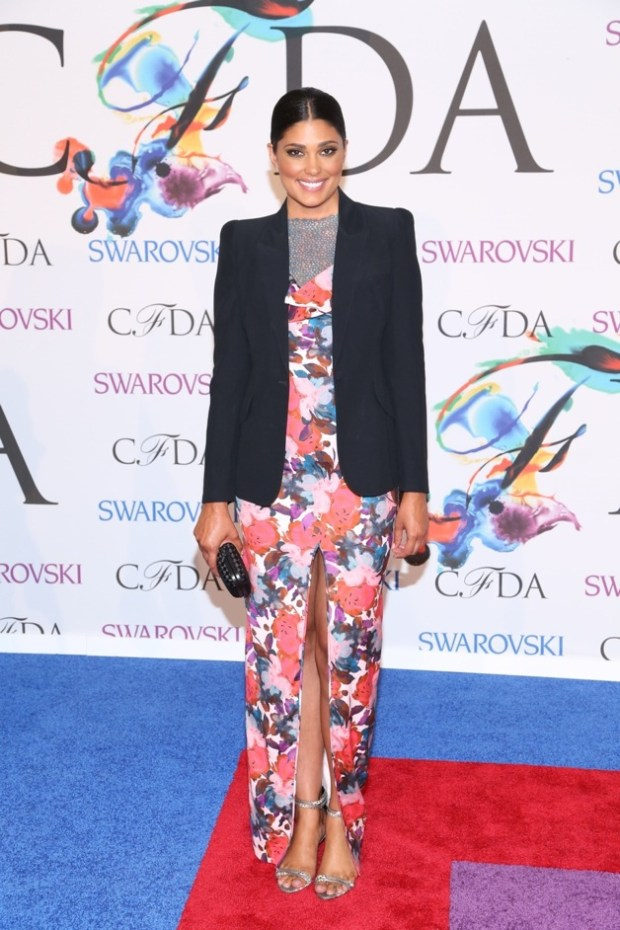 Rachel Roy attends the 2014 CFDA fashion awards at Alice Tully Hall, Lincoln Center in New York