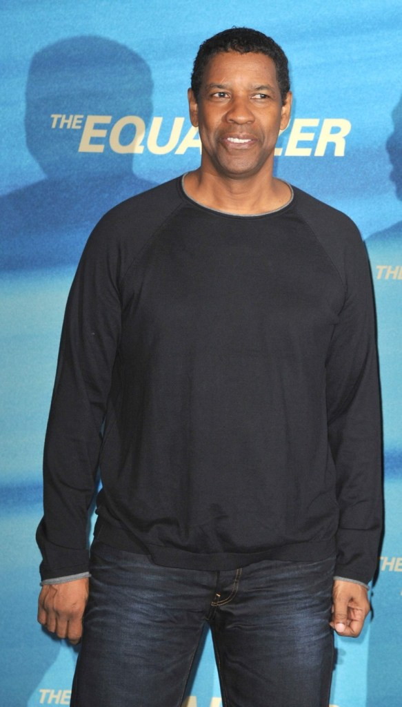 Denzel Washington attends 'The Equalizer' Photocall at Hotel Adlon in Berlin