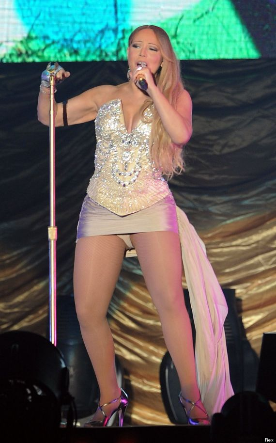 Mariah Carey in concert, Chengdu, Sichuan Province, China - 12 Oct 2014