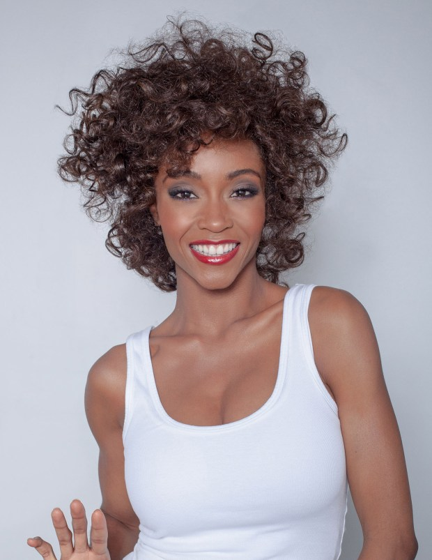 Yaya DaCosta looks like a Whitney Houston clone in this pic!