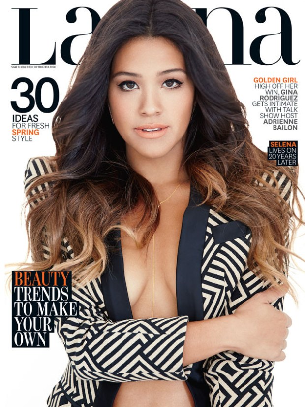 Gina Rodriguez - Latina magazine (March 2015)