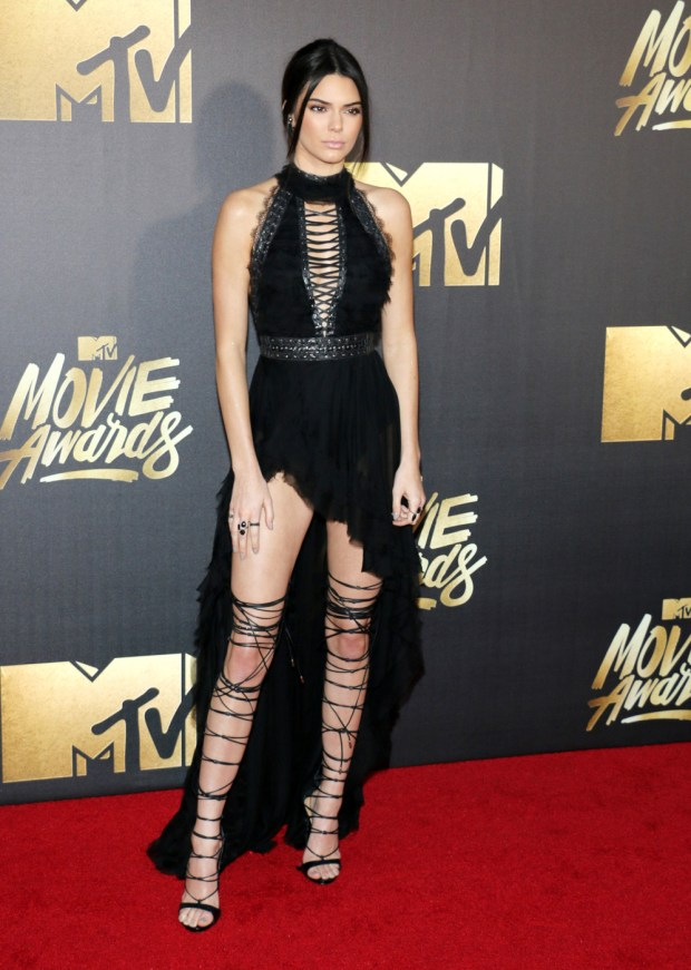Kendall Jenner at the 2016 MTV Movie Awards - PCN Photo