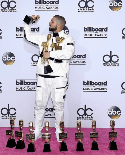 Woah! Drake Breaks Record At Billboard Awards