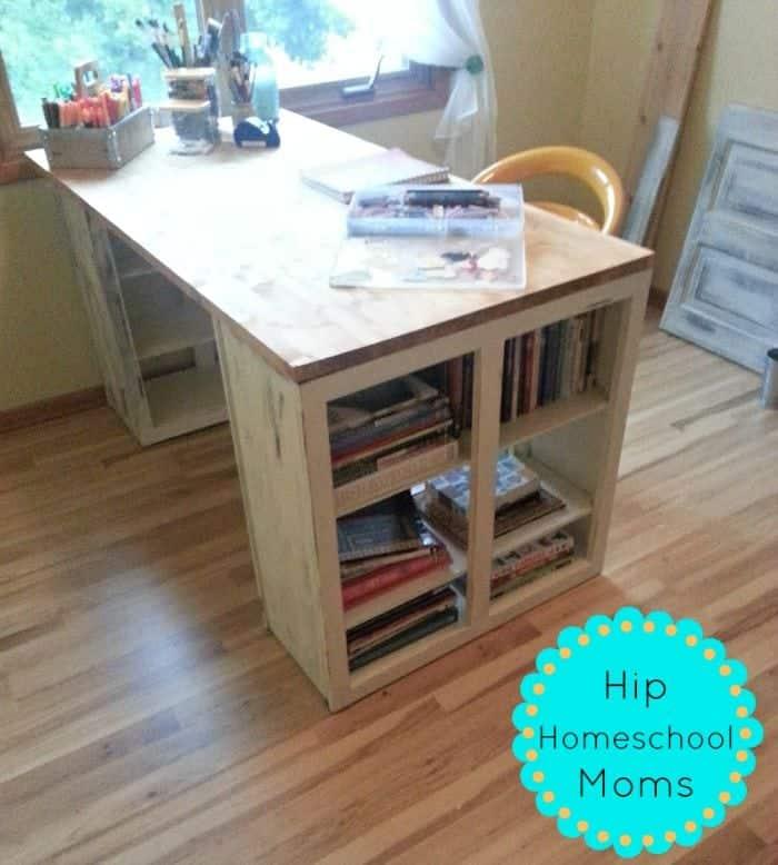 DIY Craft Desk Hack  Hip Homeschool Moms