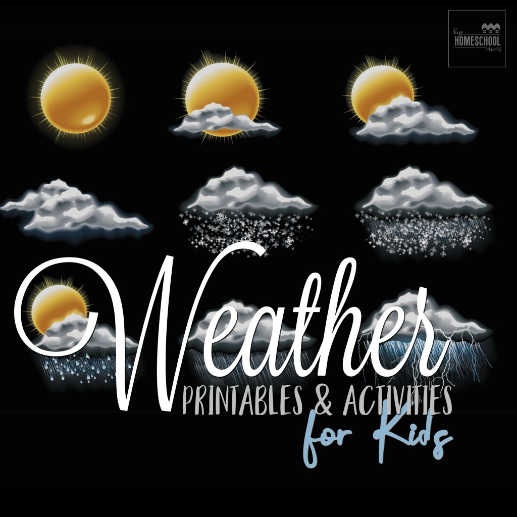 Weather Printables Amp Activities For Kids