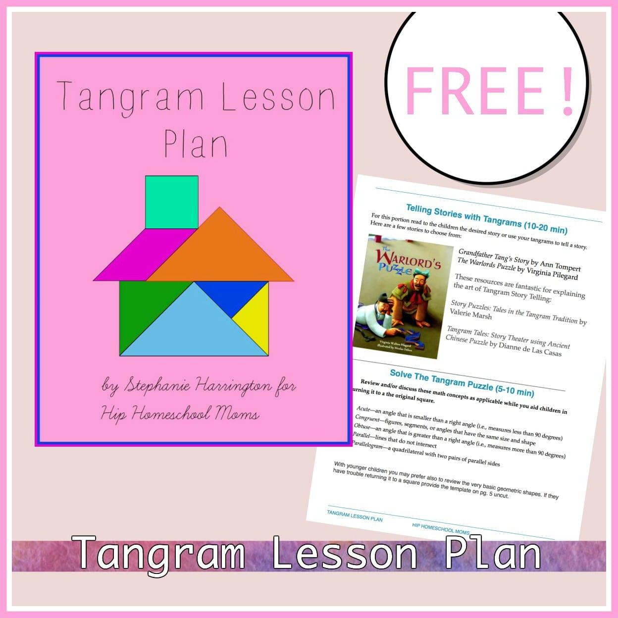 Tangram Lesson Plan