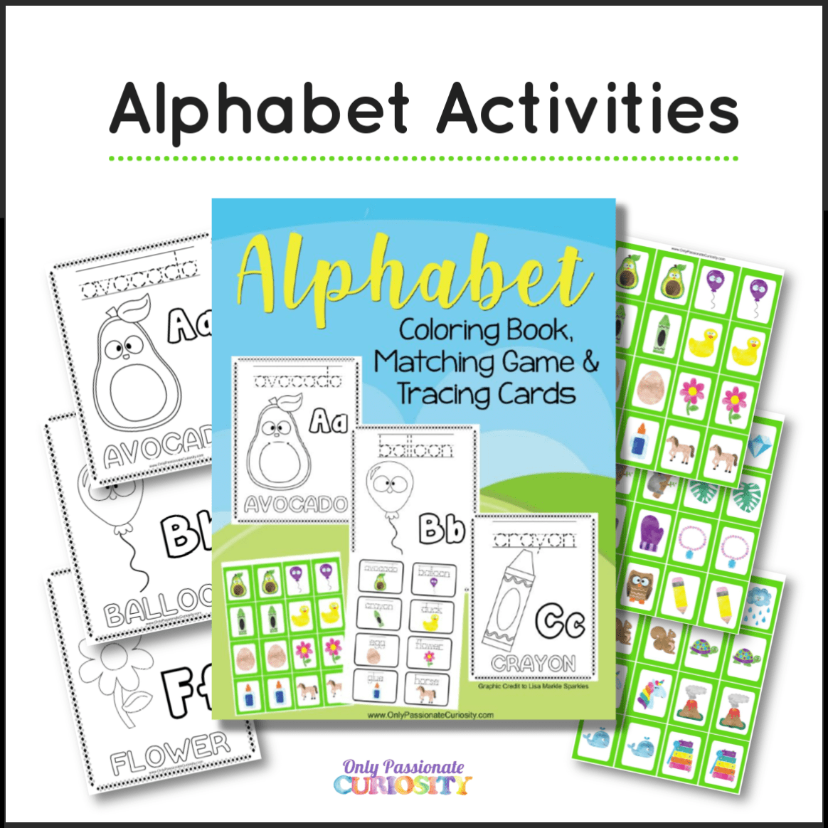 Deal Alert Alphabet Activity Worksheets