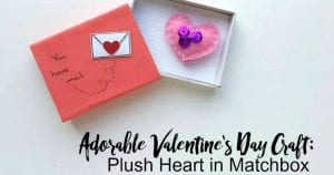 adorable valentines day craft 4