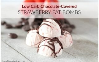 chocolate covered strawberry fat bombs 1024x683 1
