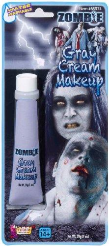 Costume Zombie Grey Tube Makeup