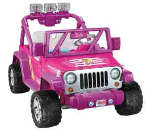 Toy Jeeps For Girls Barbie Deluxe jeep Wrangler
