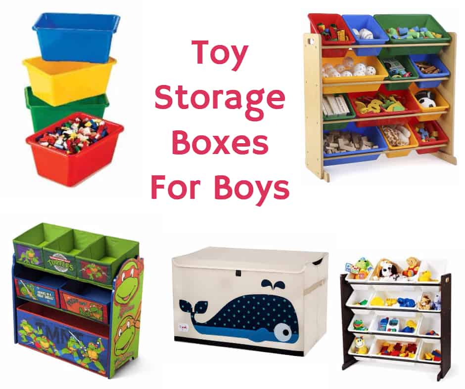 Toy Storage Boxes for Boys