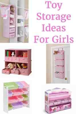 Toy Storage Ideas For Girls