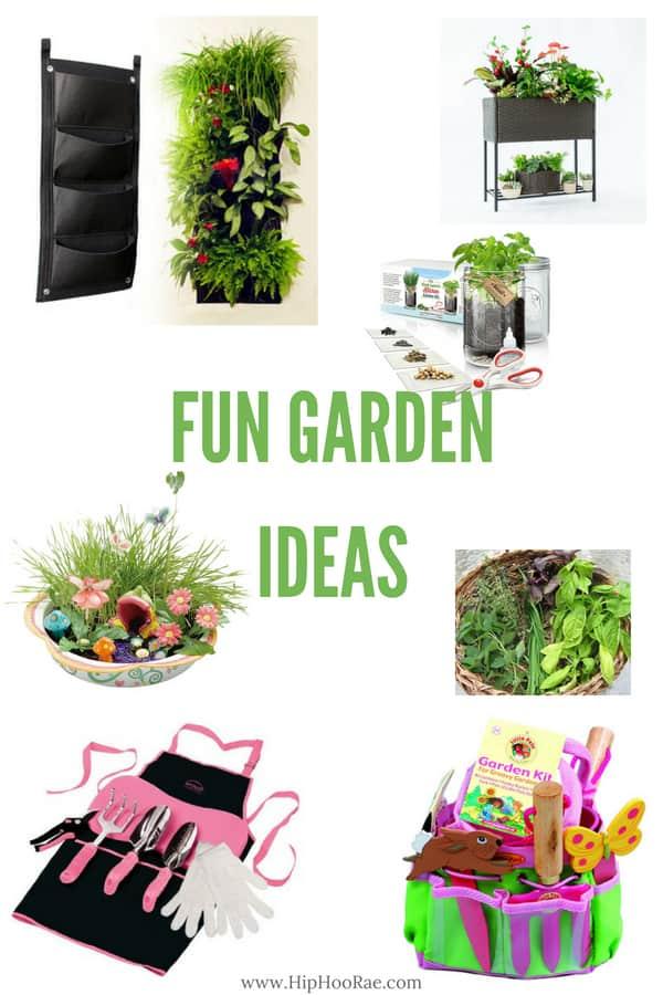 Fun Garden Ideas - For the Green Thumb! - Hip Hoo-Rae