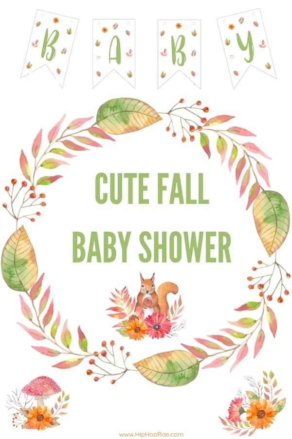 cute fall baby shower ideas hip hoo rae