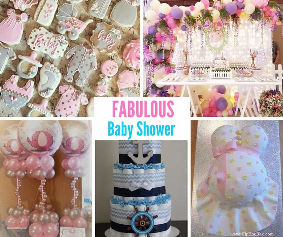 Fabulous Baby Shower Ideas - DIY Centerpieces, Favors and Decorations