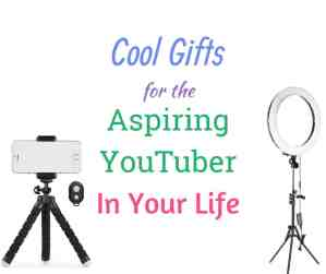 Cool Gifts For the Aspiring Youtuber in your life
