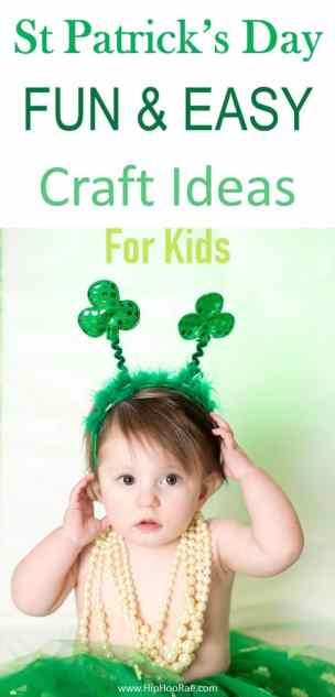 St Patricks Day Easy And Fun Craft Ideas Hip Hoo Rae