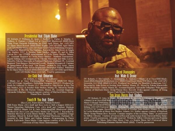 Hip-hop Junkie Rick Ross God Forgives Don T Booklet