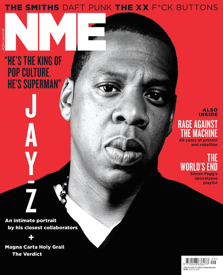 Jay Z Covers NME Magazine HipHop N More