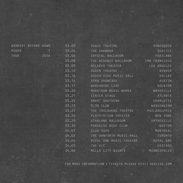 pusha t announces darkest before dawn tour