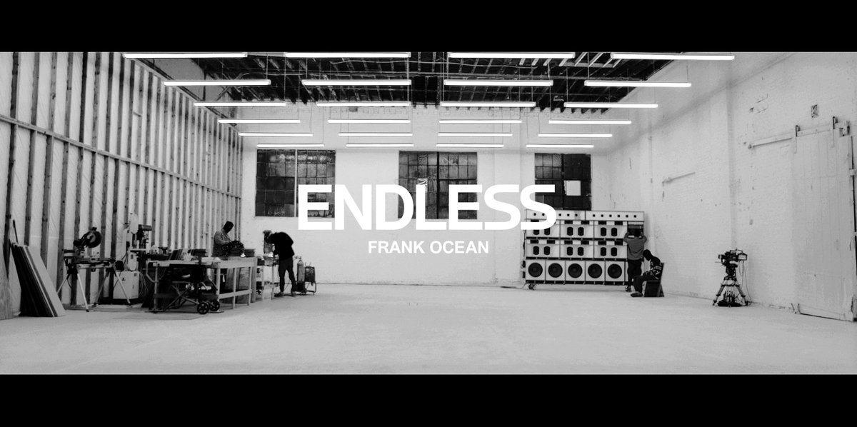 Frank Ocean Releases New Visual Album Endless  HipHopN