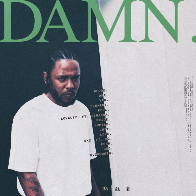 Kendrick Lamar DAMN Album (Zip Download)