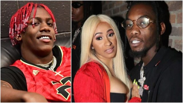 Image result for lil yachty cardi b and offset who want the smoke