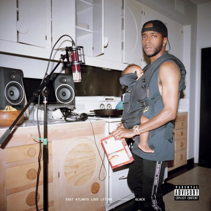 6LACK Unveils Cover For New Album East Atlanta Love Letter  HipHopNMore