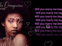 Spanchi Omnyama - Will you marry me Mp3 Download (ft Makhoe Drey)