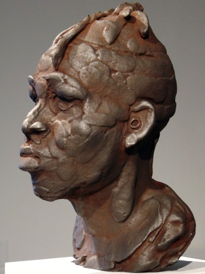 Rodman Edwards, DDG, 2019, Iron oxide and graphite on polylactide