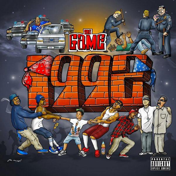 The Game 1992 cover art joe cool
