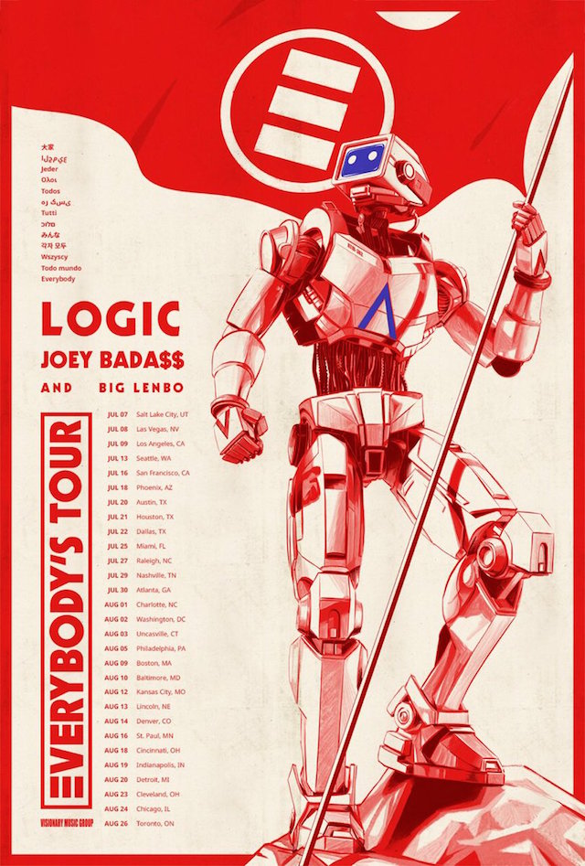 Logic Everybody's Tour