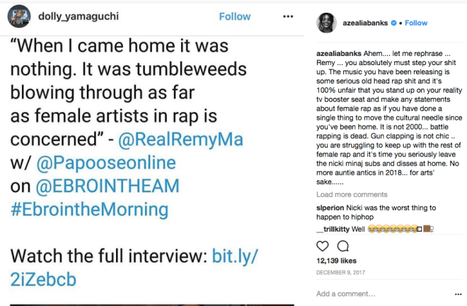 """Who's Remy Ma Dissing In New """"Roll In Peace"""" Remix?"""