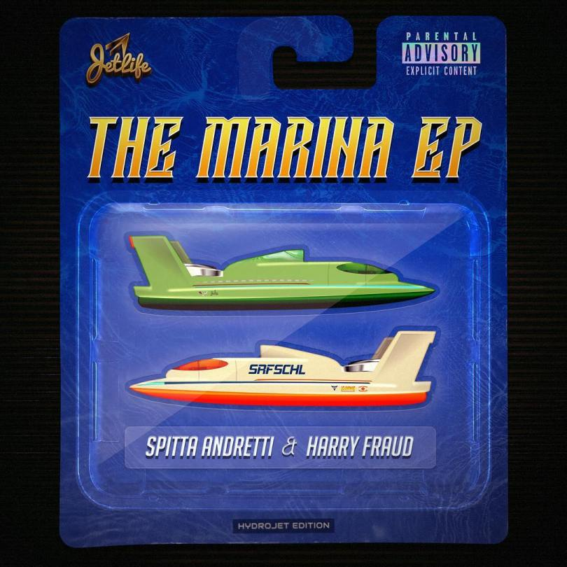 "Curren$y Unveils Release Date & Cover Art For ""The Marina"" EP With Harry Fraud"