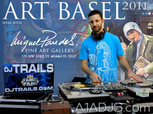 Dj Trails @ Art Basel Miami 2011 in Wynwood Design District