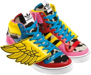 sports shoes 936cd df980 Adidas Originals x Jeremy Scott presents  2NE1 JS Wings