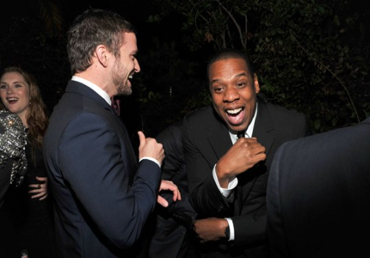 justin timberlake jay z suit and tie