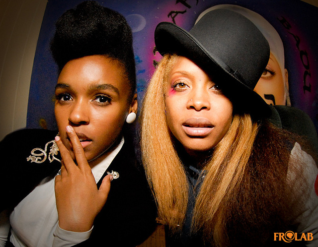 Janelle Monae and-Erykah-Badu