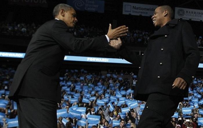 president obama / Jay-Z-Obama-roc4life