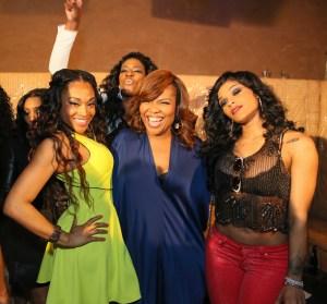 Mimi - Mona Scott-Young - Joseline @ LHHATL2 Atlanta Press Recep - 4.15.13