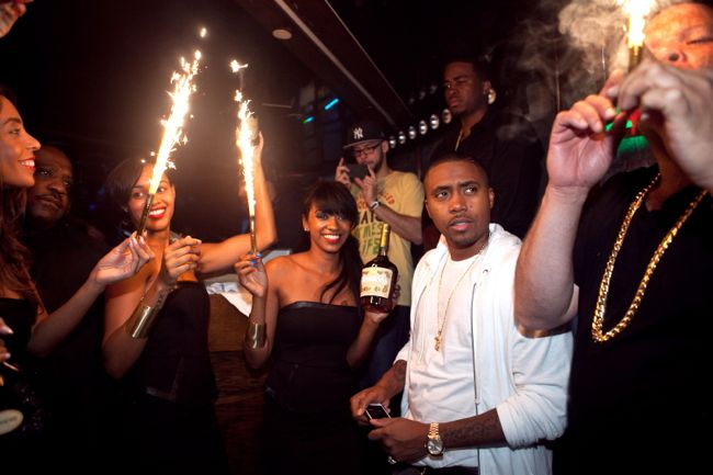 Nas And Bottle Parade