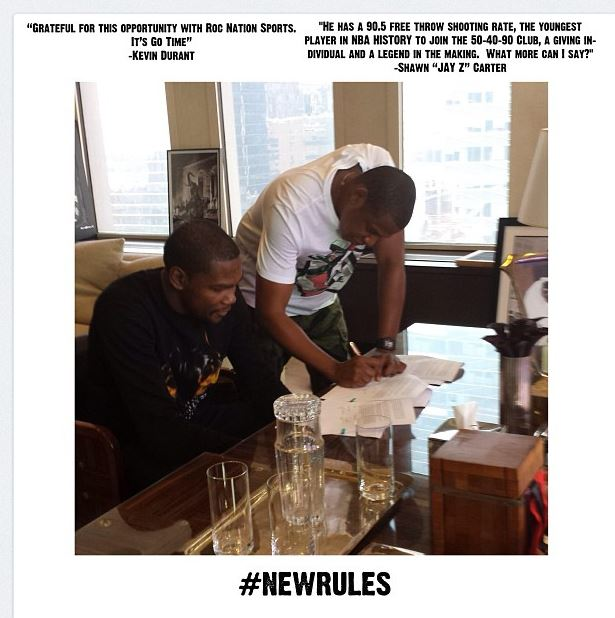 jay-z and kevin durant