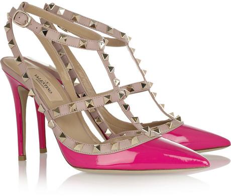pink valentino pumps