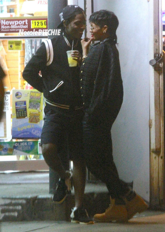 Rihanna-and-ASAP-Rocky-Video-Set