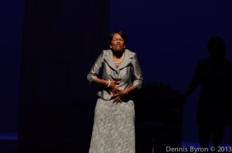 Actress Terry Henry as Patsy in 'da Kink in My Hair'/Photo by: Dennis Byron