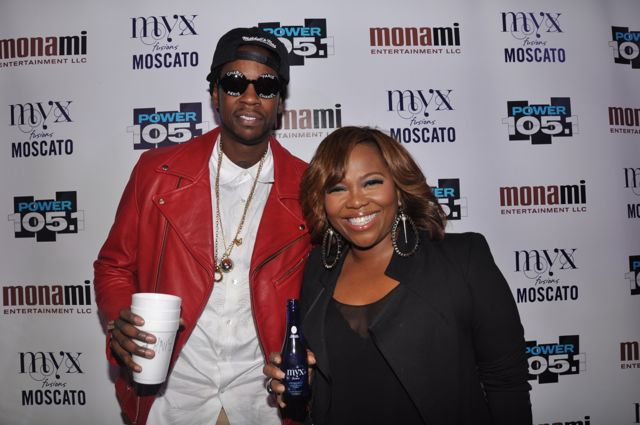2 Chainz and Mona Scott-Young